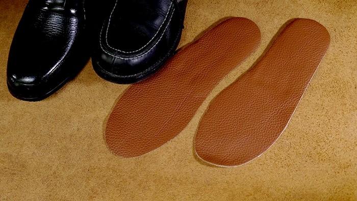 男用-皮鞋氣墊